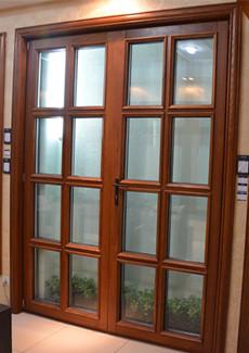 法式758木铝复合门